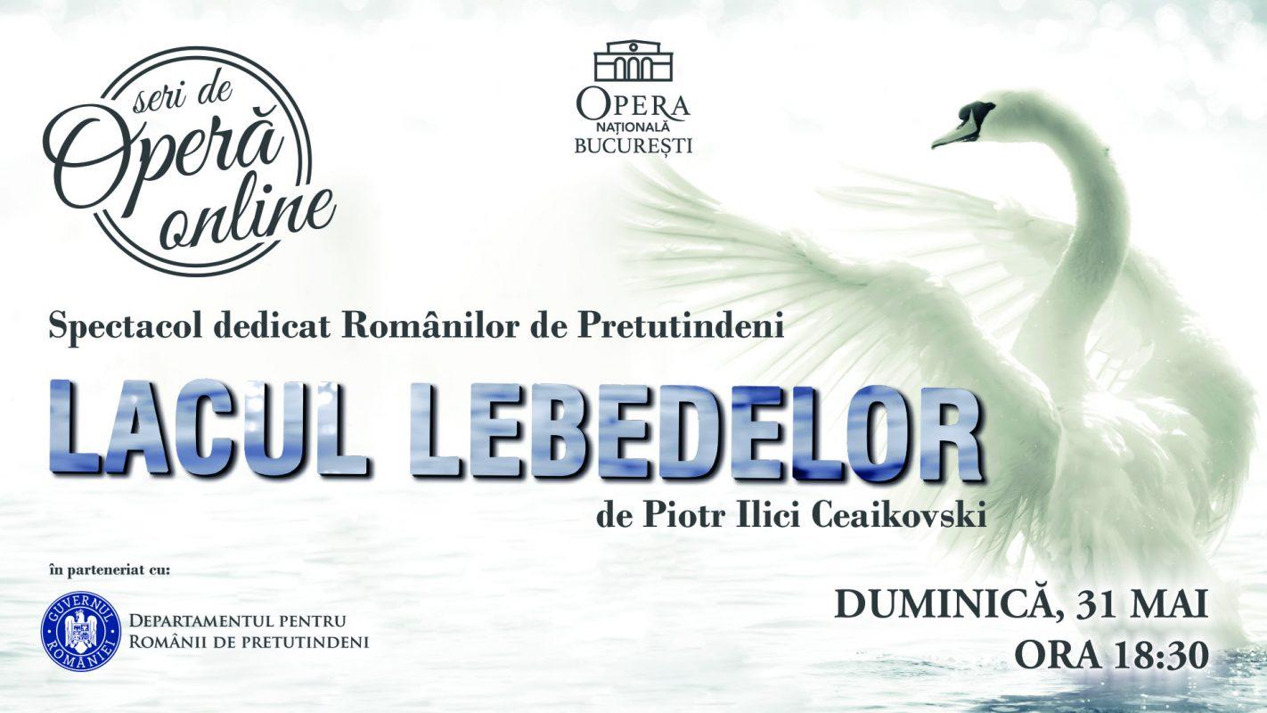 """Spectacolul """"Lacul lebedelor"""", de Ziua Românilor de Pretutindeni"""