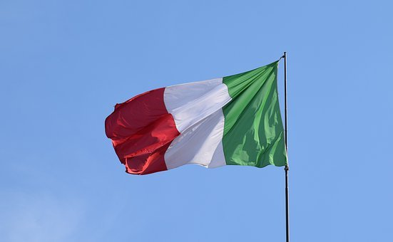 Italia – zonă roşie