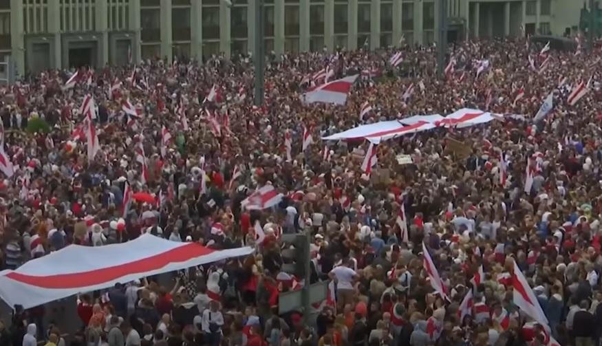 Apel la solidaritate și sprijin pentru protestele din Belarus