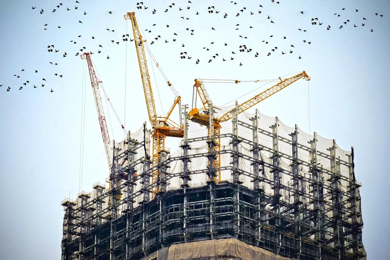 Sectorul construcțiilor a scăzut în Europa în luna septembrie