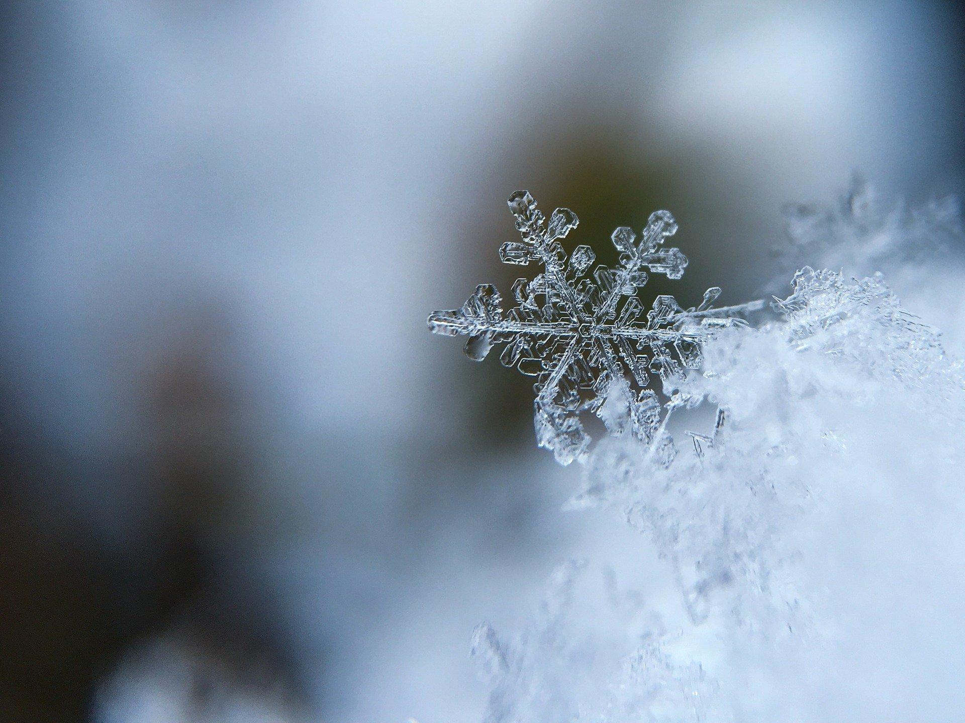 Bistrița-Năsăud: zăpadă de până la 15 cm în zona montană
