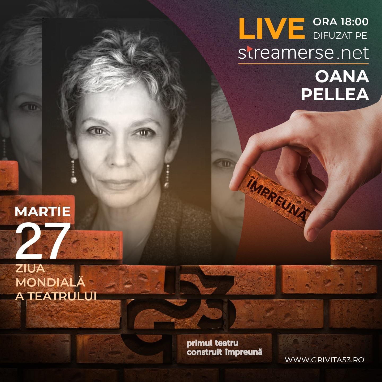 Eveniment caritabil pentru construirea teatrului Grivița 53