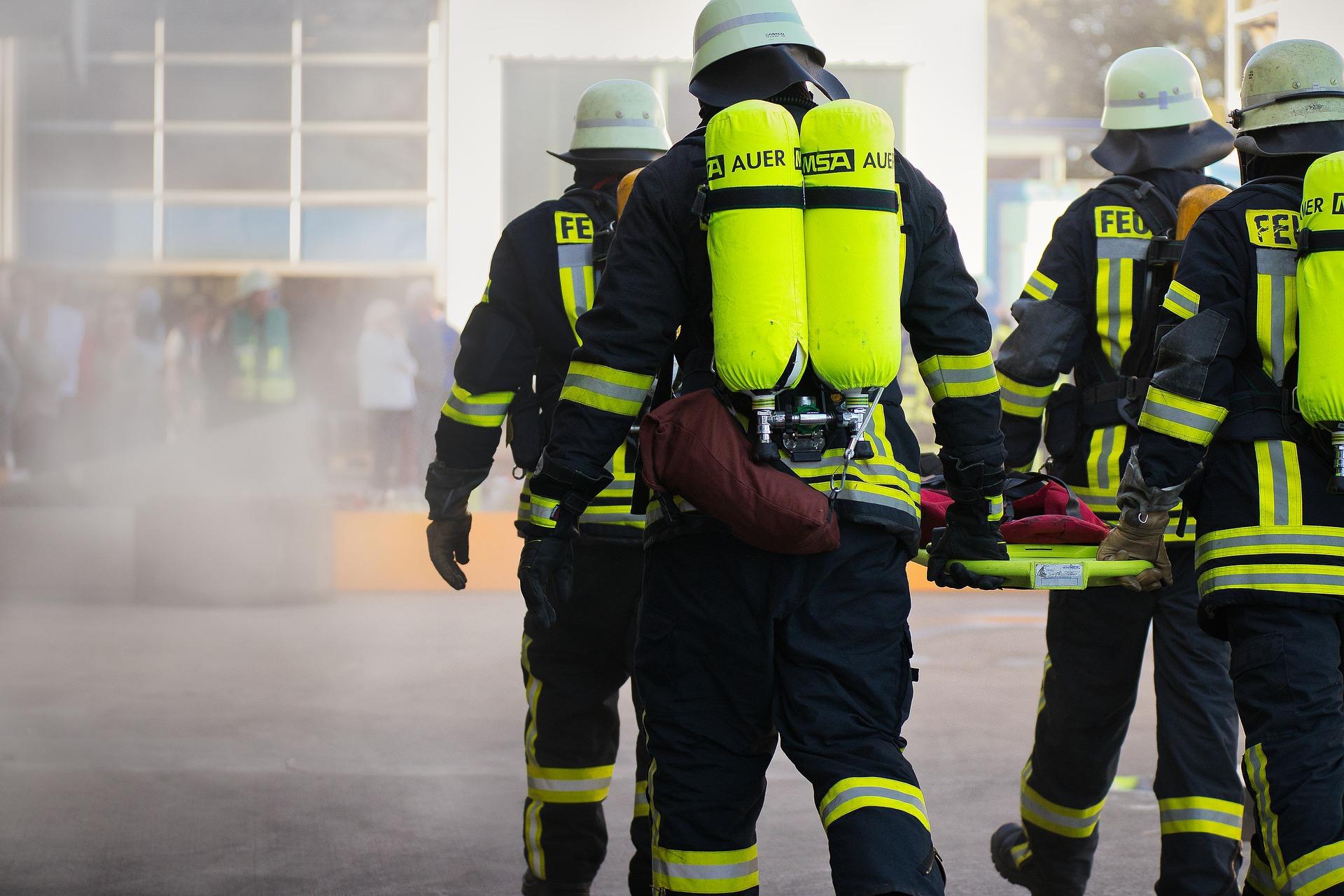 """Simulare de incendiu la Spitalul """"Victor Babeș"""" din Timișoara"""