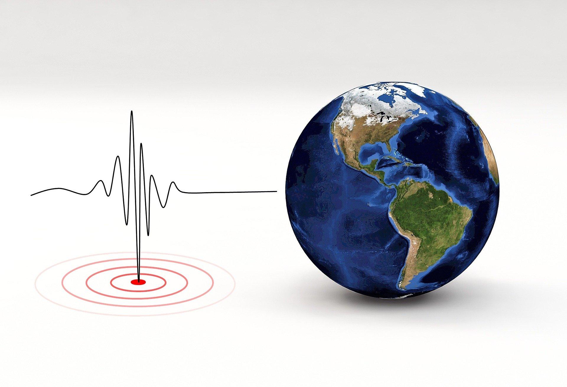 Cutremur mediu cu magnitudinea de 4.5 pe scara Richter